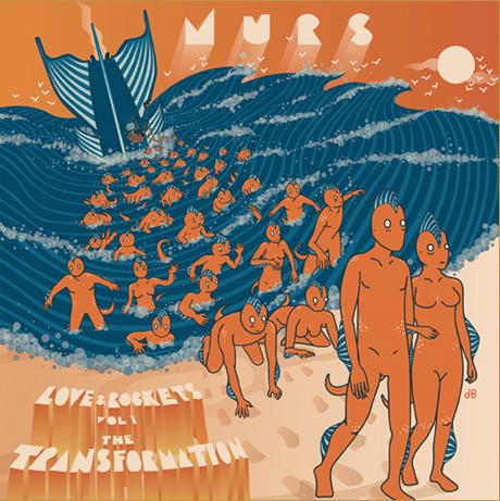 Murs Announces 'Love & Rockets Vol. 1: The Transformation'