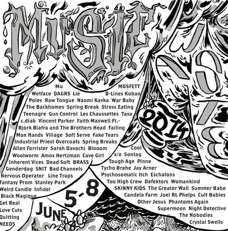 Vancouver's Music Waste Unveils 2014 Lineup with Jay Arner, B-Lines, Too High Crew, Tough Age