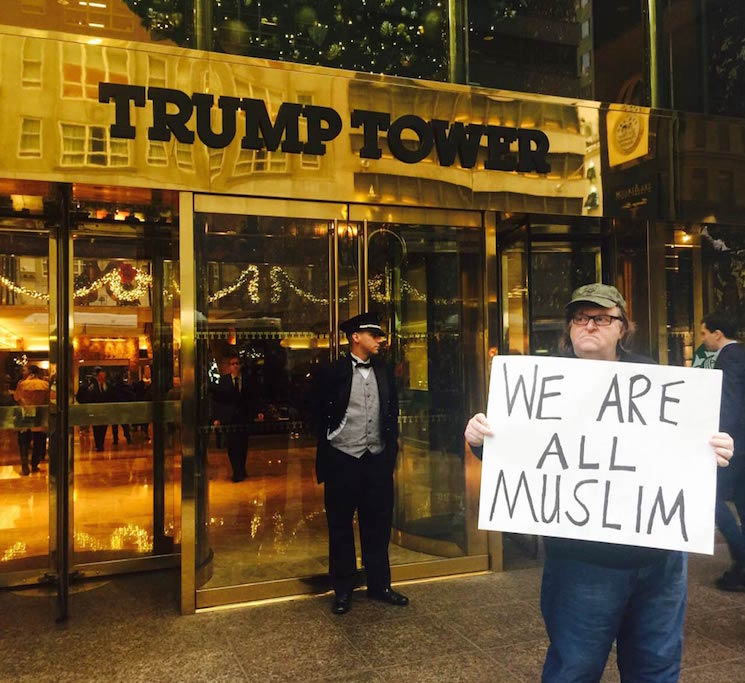 Michael Moore to Donald Trump: 'We Are All Muslim'
