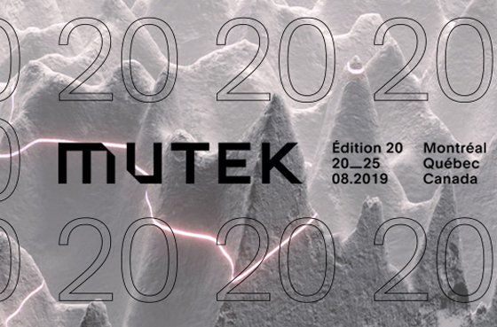 MUTEK Montreal Unveils Initial 2019 Lineup