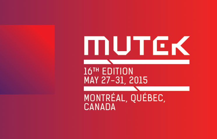MUTEK Reveals Second Wave of 2015 Performers