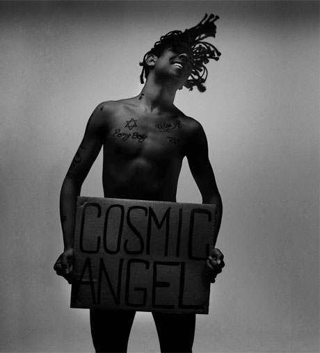 Mykki Blanco 'Cosmic Angel: The Illuminati Prince/ss' (mixtape)