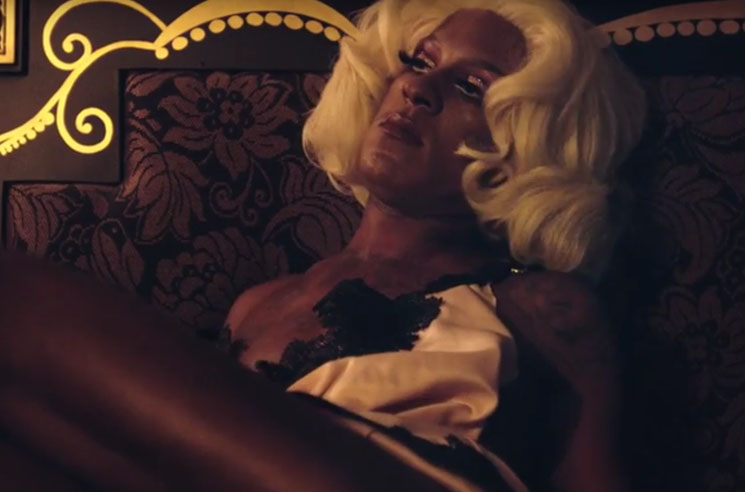 "Mykki Blanco ""Coke White, Starlight"" (video)"
