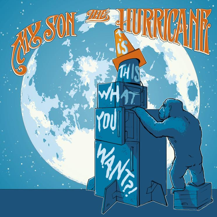 My Son the Hurricane  'Is This What You Want?!' (album stream)