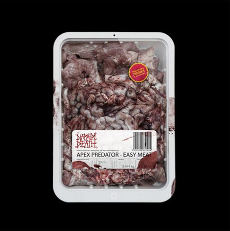 Napalm Death Detail 'Apex Predator - Easy Meat'