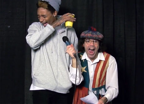 Nardwuar the Human Serviette vs. Wiz Khalifa