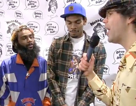 Nardwuar the Human Serviette vs. Flatbush Zombies