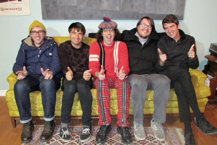 Nardwuar the Human Serviette vs. Joyce Manor