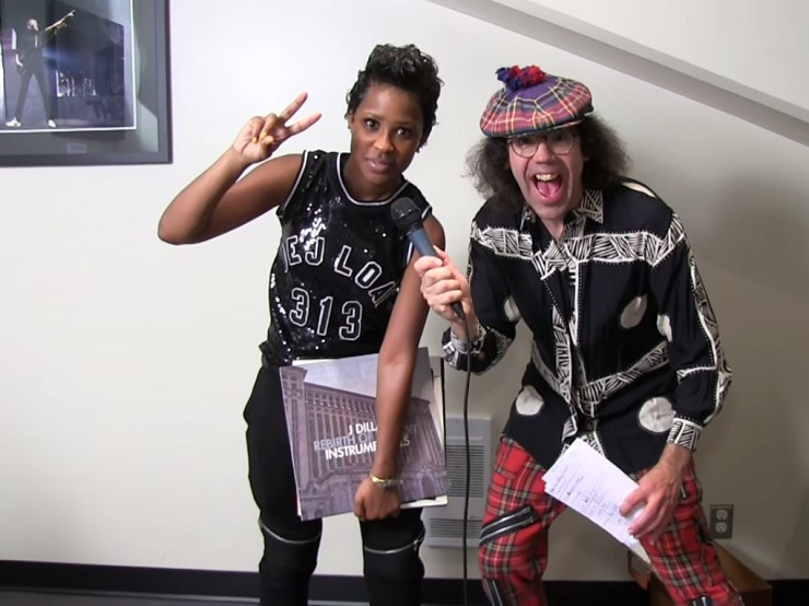 Nardwuar the Human Serviette vs. Dej Loaf