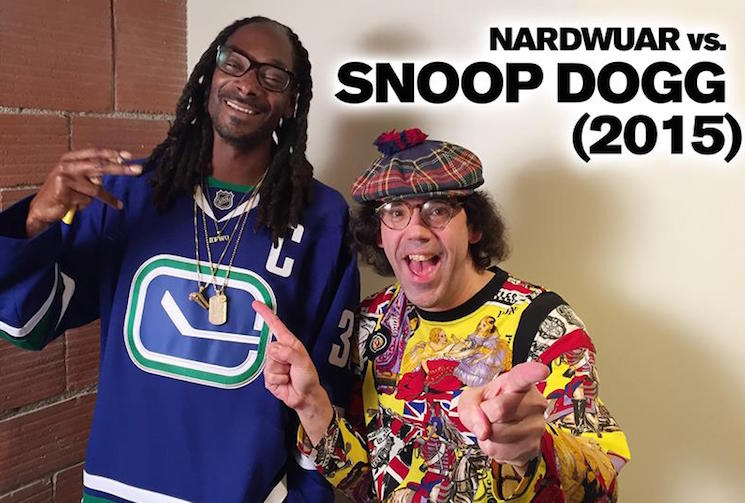 Nardwuar the Human Serviette vs. Snoop Dogg