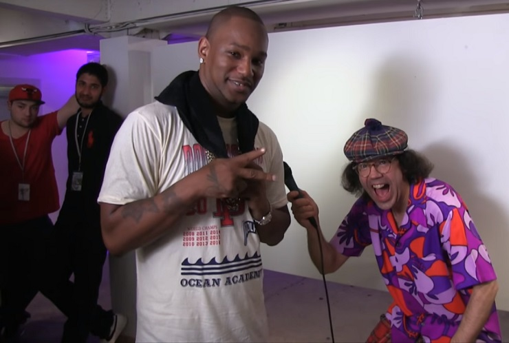 Nardwuar the Human Serviette vs. Cam'ron