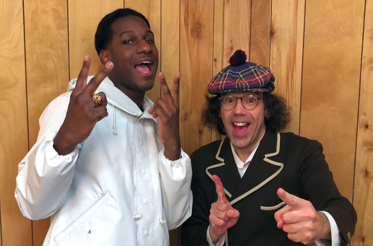 Watch Nardwuar Interview Leon Bridges