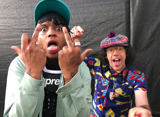 ​Nardwuar the Human Serviette vs. Ski Mask the Slump God