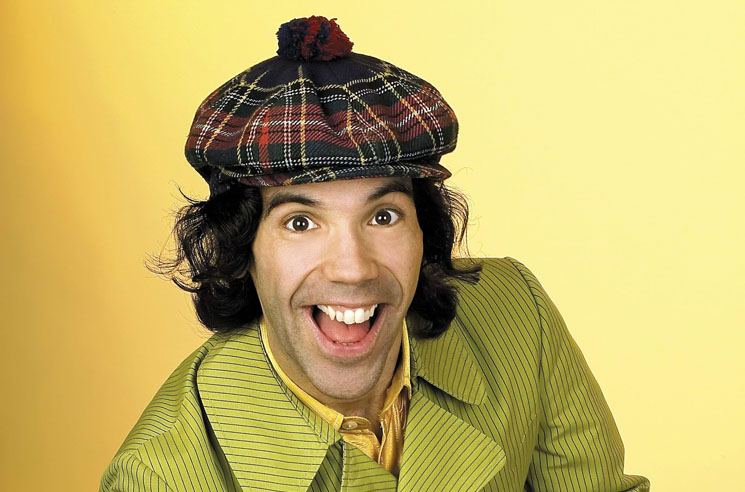 Nardwuar the Human Serviette Suffers Stroke