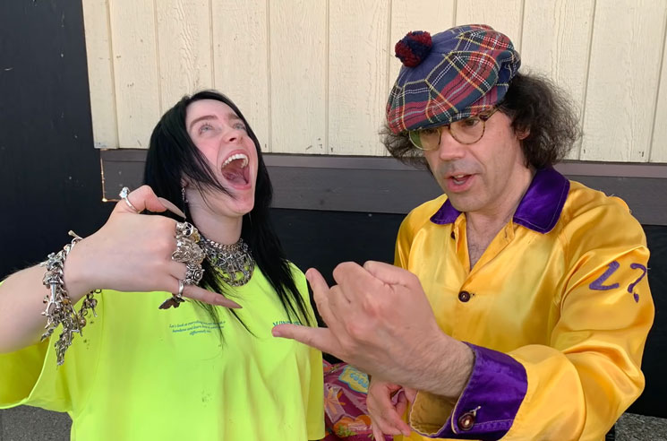 Watch Nardwuar Interview Billie Eilish