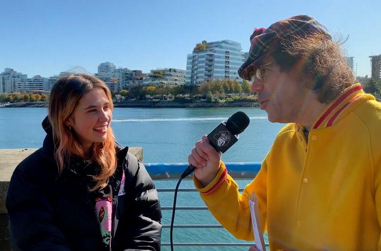 Watch Nardwuar Interview Clairo