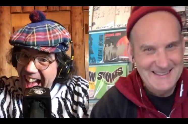 Nardwuar Interviews Fugazi's Ian MacKaye in Quarantine