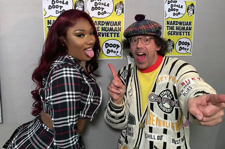 Watch Nardwuar Interview ​Megan Thee Stallion