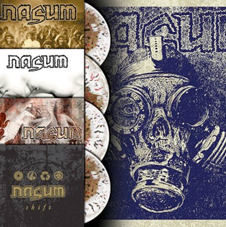 Nasum Honoured with Vinyl Reissue Campaign