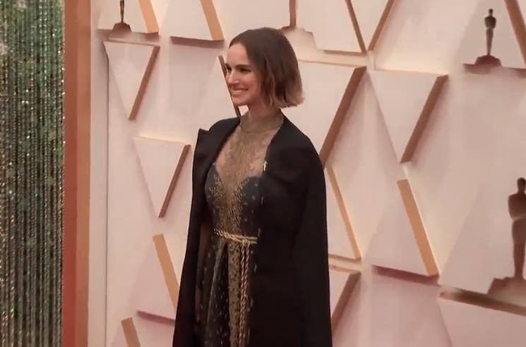 Natalie Portman Honoured Snubbed Female Directors with Her Oscars Dress