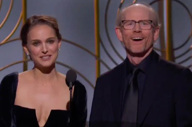 Natalie Portman Threw the Best Shade at the Golden Globes