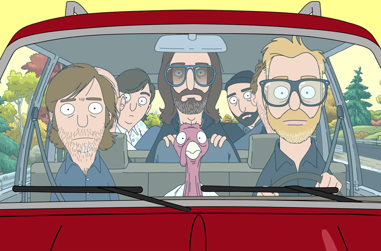 "Hear the National's 'Bob's Burgers' Thanksgiving Song ""Save the Bird"""