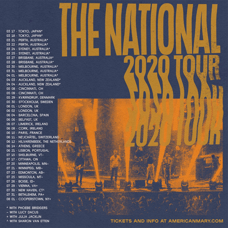 The National Hit Canada on North American Summer Tour