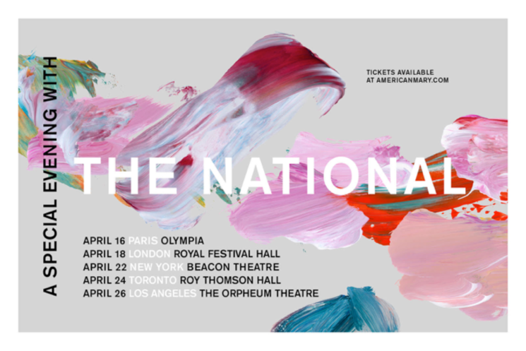 "​The National Announce Intimate ""A Special Evening With"" Shows"