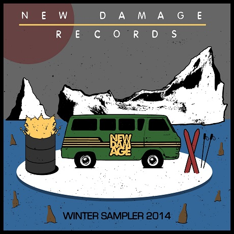 Various 'New Damage Records Winter Sampler 2014' (album stream)
