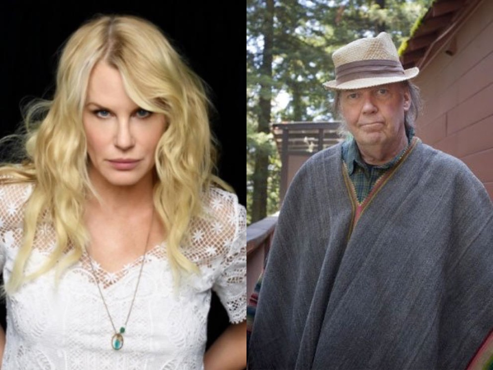Neil Young reportedly marries girlfriend Daryl Hannah