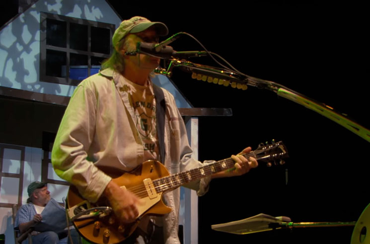 Neil Young Shares New 'Return to Greendale' Video for 'Falling from Above'