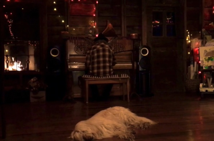 Watch Neil Young's Third 'Fireside Session,' Featuring His Adorable Dog
