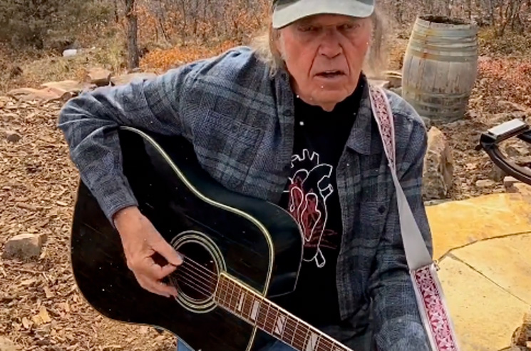 Neil Young Covers Bob Dylan's 'The Times They Are a-Changin''
