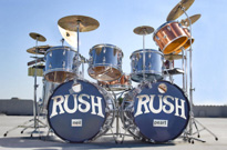 Neil Peart's First Rush Drum Kit Is Headed to Auction