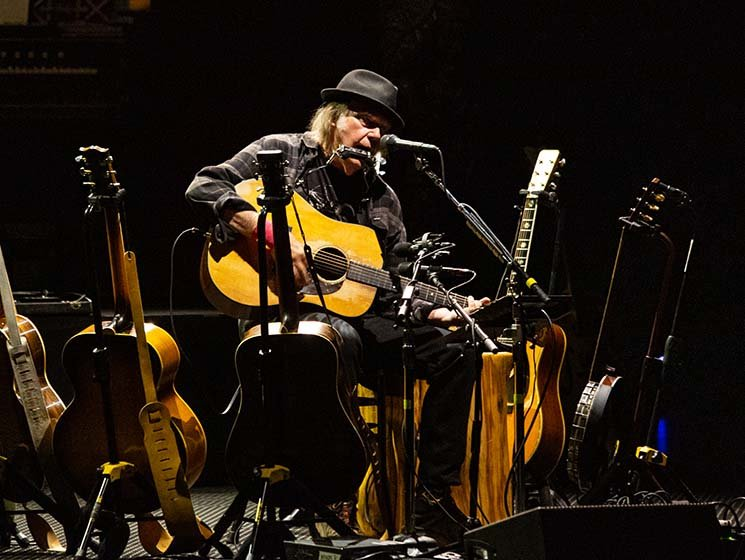 Neil Young Calls for Police Reform, Shares 'Southern Man' Performance