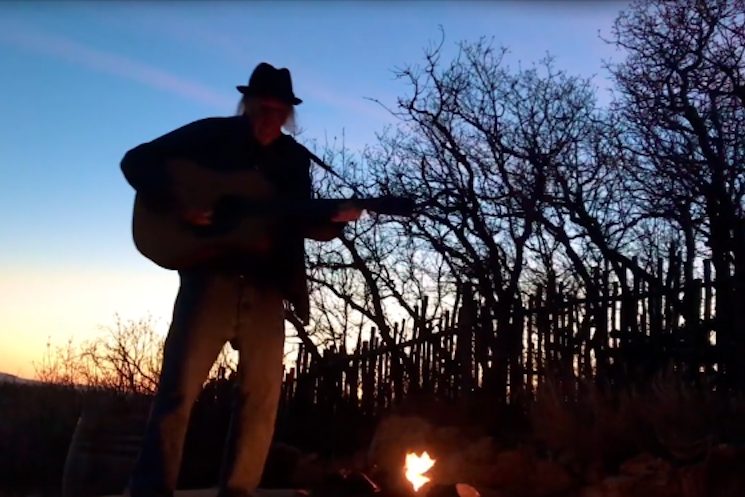 Watch Neil Young's Fourth 'Fireside Session'