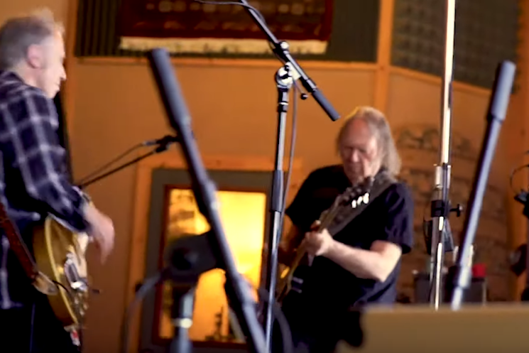 Neil Young Updates 'Shut It Down' for the Coronavirus Era
