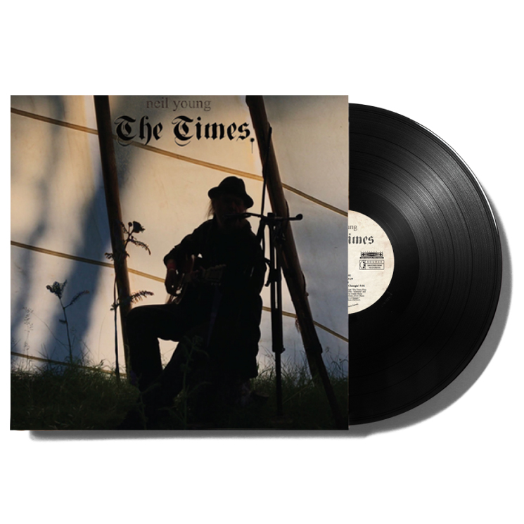 Neil Young's 'The Times' EP Is Getting a Vinyl Release