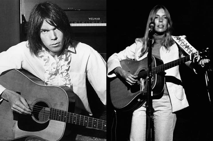 ​Neil Young and Joni Mitchell Live Recordings Unearthed