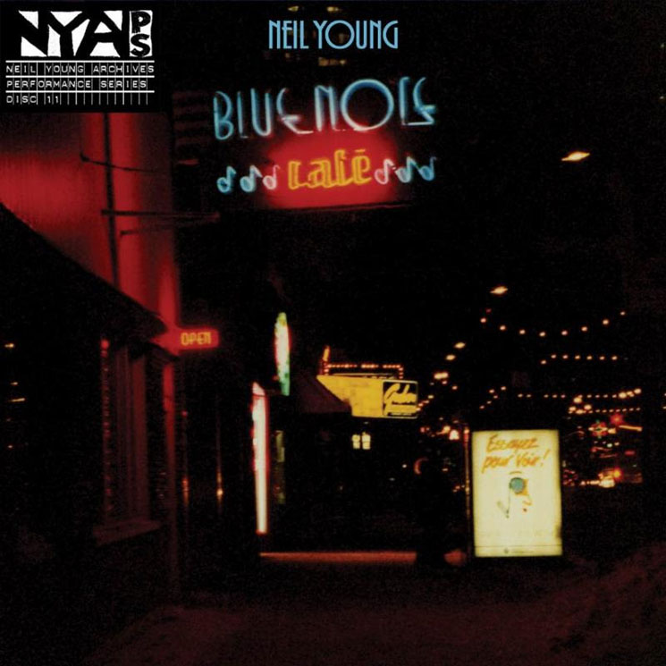 Neil Young's 1988 Tour Honoured with 'Bluenote Café' Double Album