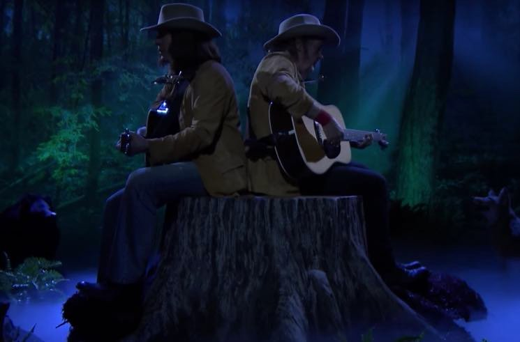 ​Watch Jimmy Fallon's Neil Young Impression Perform with the Real Neil Young