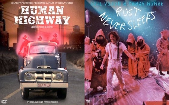 Neil Young's 'Human Highway' and 'Rust Never Sleeps' Films Reissued on DVD