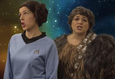 Neko Case & Kelly Hogan 'These Aren't the Droids' (video)