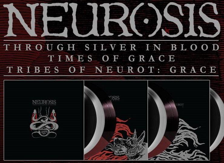 Neurosis Get Deluxe Vinyl Reissues via Relapse