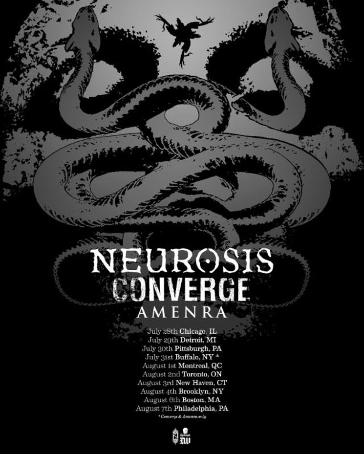 Neurosis and Converge Join Forces for North American Tour
