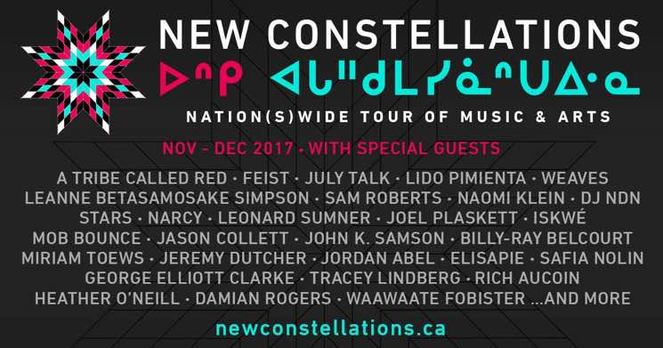New Constellations Tour Brings Feist, A Tribe Called Red, July Talk Across Canada