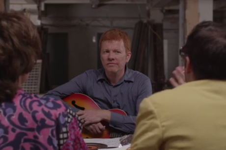 The New Pornographers A.C. Newman Visits the Brill Building (Funny or Die video)
