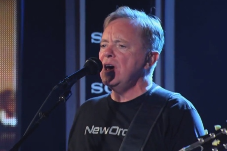 "New Order ""Bizarre Love Triangle"" / ""I'll Stay with You"" (live on 'Kimmel')"