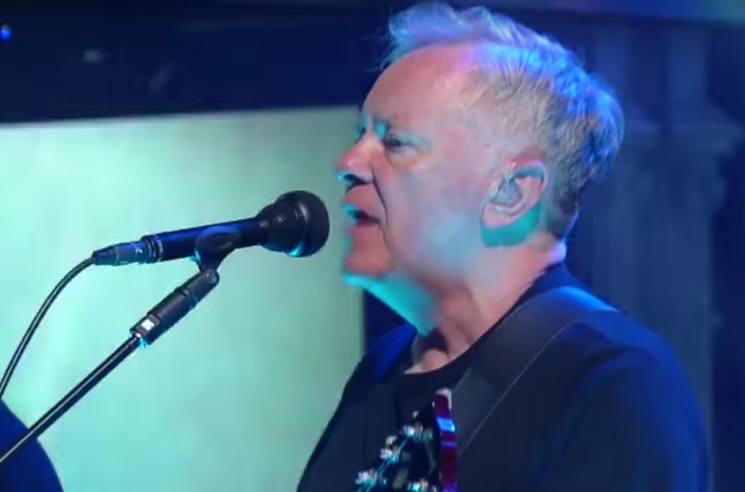 "Watch New Order Perform ""Singularity"" on 'Colbert'"