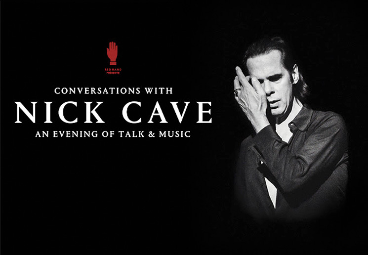 "Nick Cave Is Bringing His ""Conversations With"" Tour to Canada and the U.S."